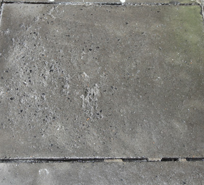 Paving stone - after